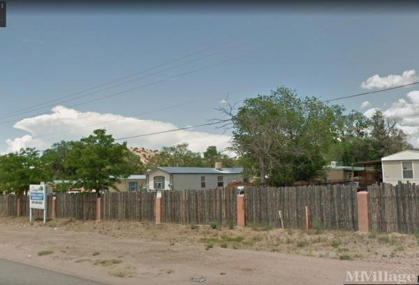 Tesuque Pueblo Trailer Village Mobile Home Park in Santa Fe, NM