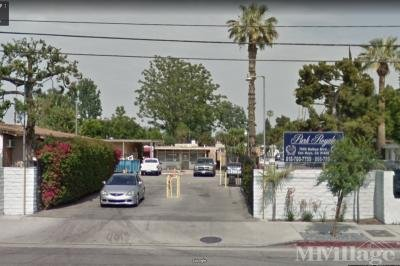 Mobile Home Park in Van Nuys CA