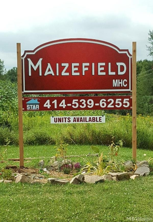 Maizefield MHC Mobile Home Park in Mosinee, WI