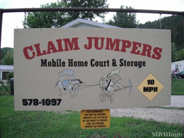 Claim Jumpers Mobile Home Court and Storage Mobile Home Park in Deadwood, SD