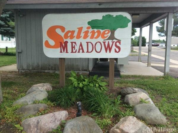 Saline Meadows Mobile Home Park in Saline, MI