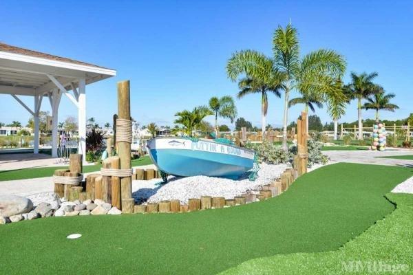 Mini-Golf Course & Party Patio