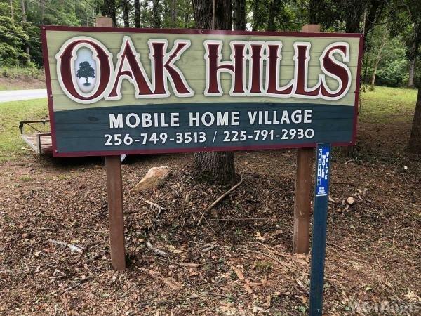 Oak Hills Mobile Home Village Mobile Home Park in Alexander City, AL