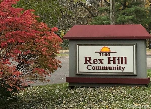 Rex Hill Mobile Home Park in Barberton, OH