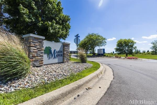 Mason Manor Mobile Home Park in Mason, MI