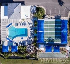 Aerial View of Pool, Shuffleboard