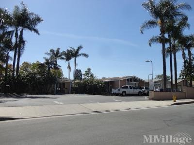 Mobile Home Park in Tustin CA
