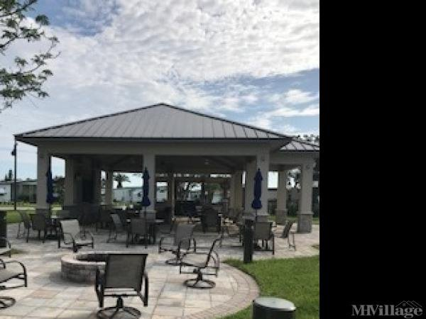 Outdoor Firepit and Pavilion