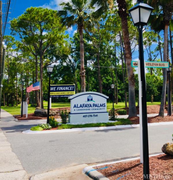 Alafaya Palms Mobile Home Park in Orlando, FL