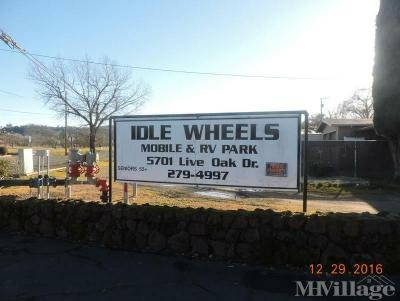 Mobile Home Park in Kelseyville CA