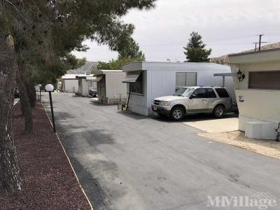 Mobile Home Park in Morongo Valley CA