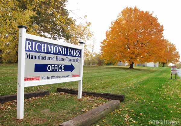Richmond MHP Mobile Home Park in Canton, OH