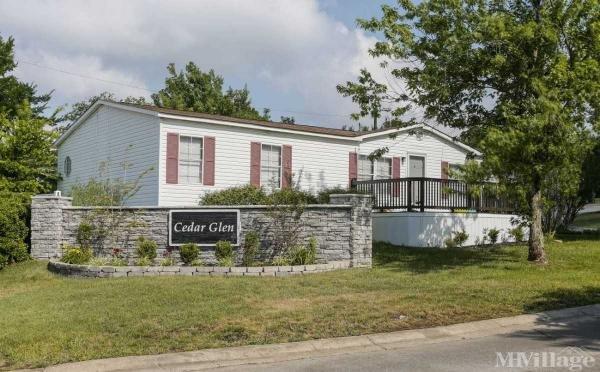 Cedar Glen Mobile Home Park in La Vergne, TN