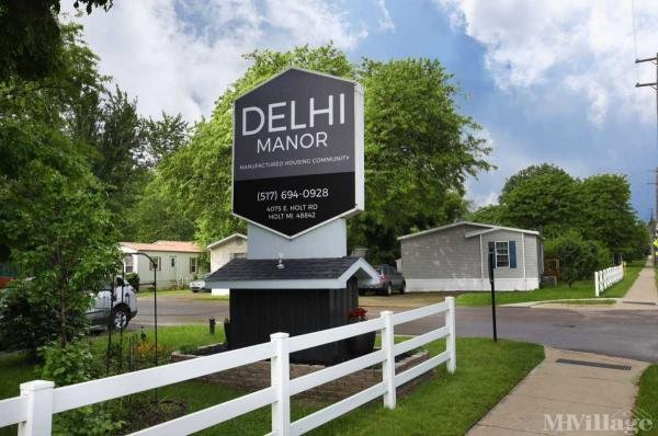 Delhi Manor Mobile Home Park in Holt, MI
