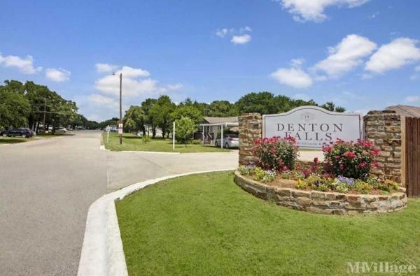 Denton Falls Mobile Home Park in Denton, TX