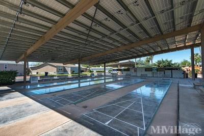 Covered Shuffleboard courts