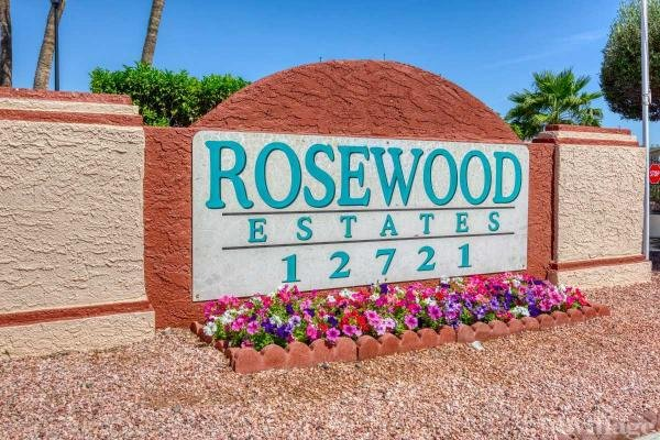Rosewood Estates Mobile Home Park in El Mirage, AZ