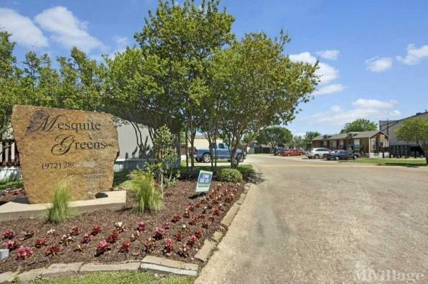 Mesquite Green Mobile Home Park in Dallas, TX