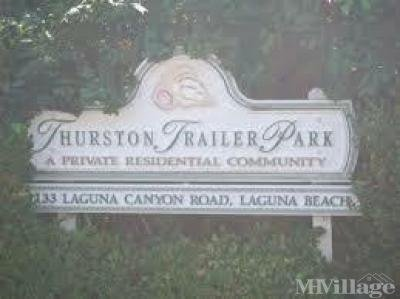 Mobile Home Park in Laguna Beach CA
