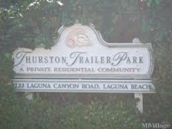 Photo of Thurston Mobile Home Park, Laguna Beach, CA
