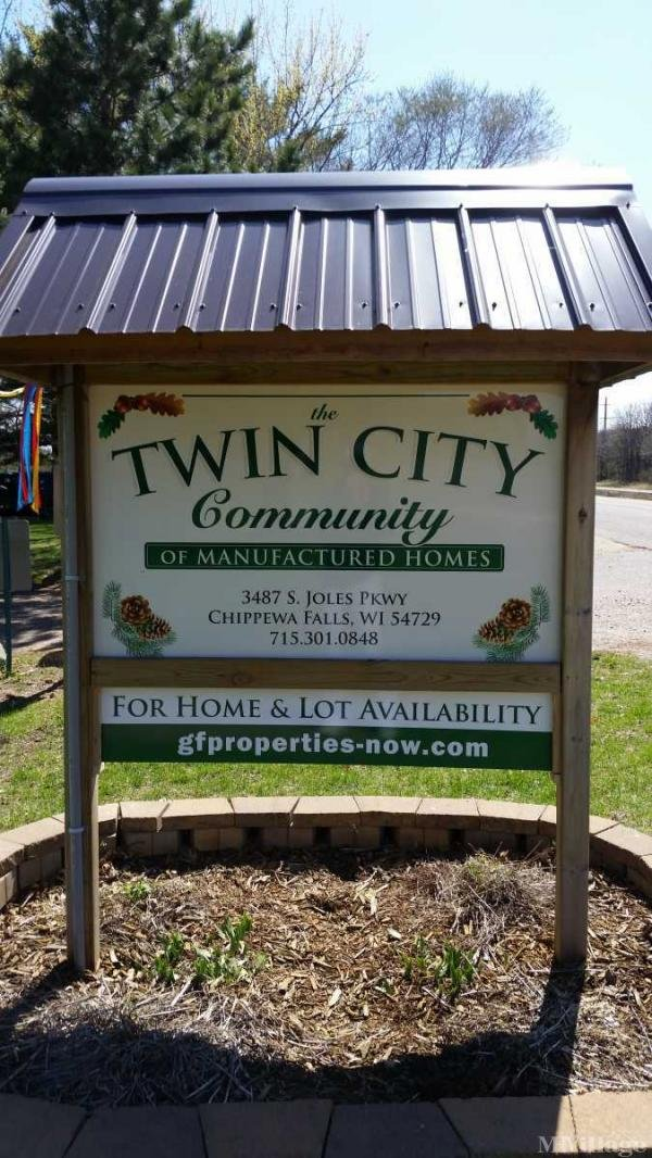 Twin City Community of Mf'd Homes Mobile Home Park in Chippewa Falls, WI