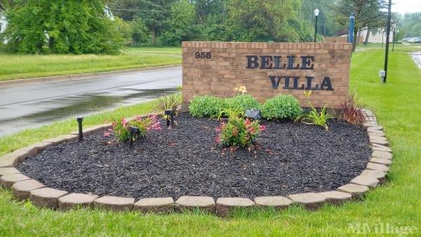 Belle Villa Lake Mobile Home Park in Belleville, MI