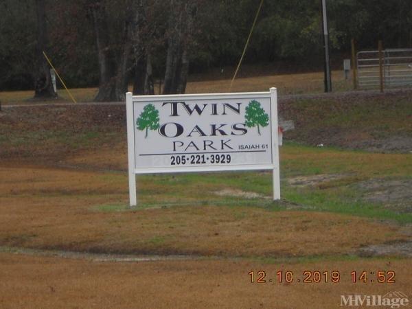 Twin Oaks Park Mobile Home Park in Jasper, AL