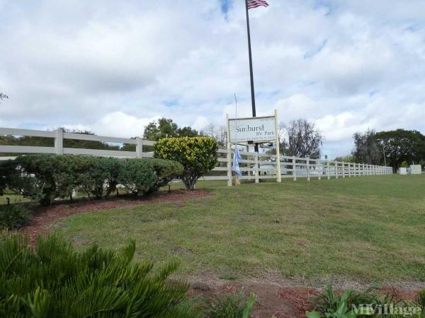 Photo of Sunburst MHP and RV Park, Dade City, FL