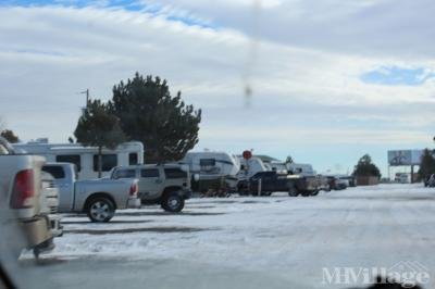 Mobile Home Park in Burns WY