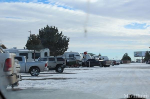 WYO Campground & RV Park Mobile Home Park in Burns, WY