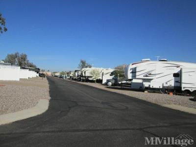 Mobile Home Park in Picacho AZ
