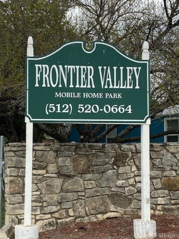 Frontier Valley MHP, LLC Mobile Home Park in Austin, TX