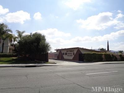 Mobile Home Park in Moreno Valley CA