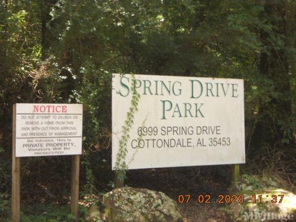 Photo 0 of 2 of park located at 6999 Spring Dr Cottondale, AL 35453