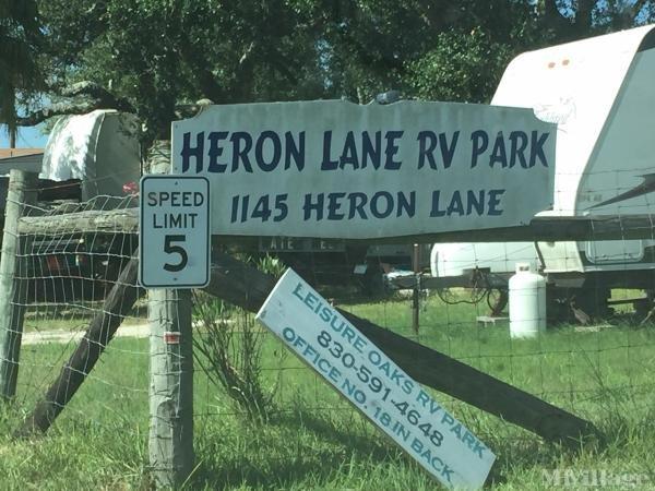 Photo of Heron Lane RV Park, Rockport, TX
