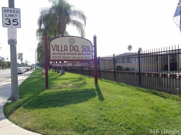 Photo of Villa Del Sol Mobile Home Estates, Hemet, CA