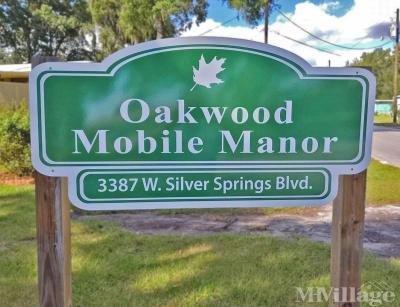 Mobile Home Park in Ocala FL