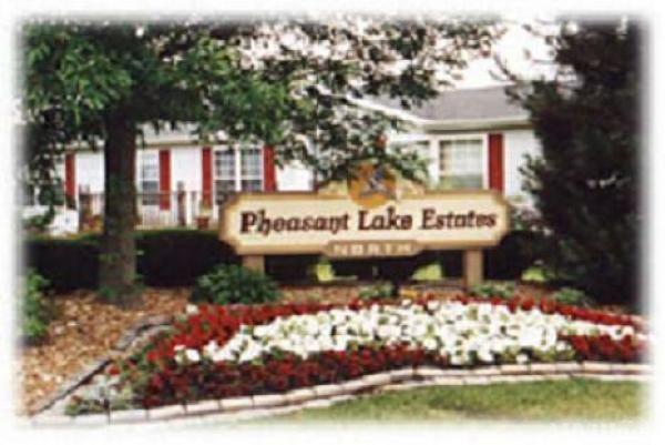 Pheasant Lake Estates Mobile Home Park in Beecher, IL