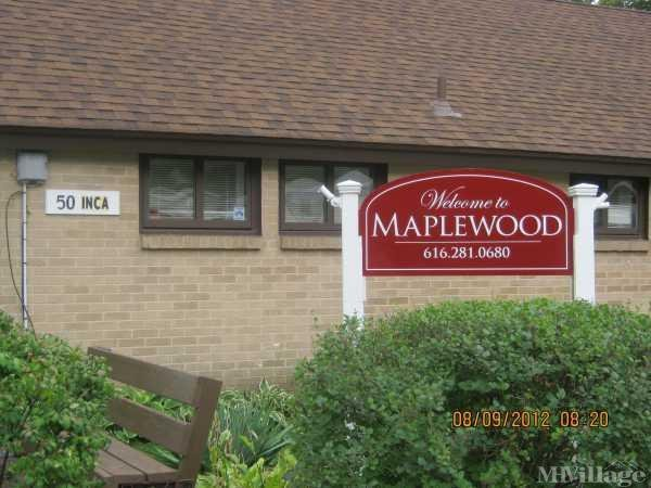 Maplewood Manufactured Housing Community Mobile Home Park in Grand Rapids, MI
