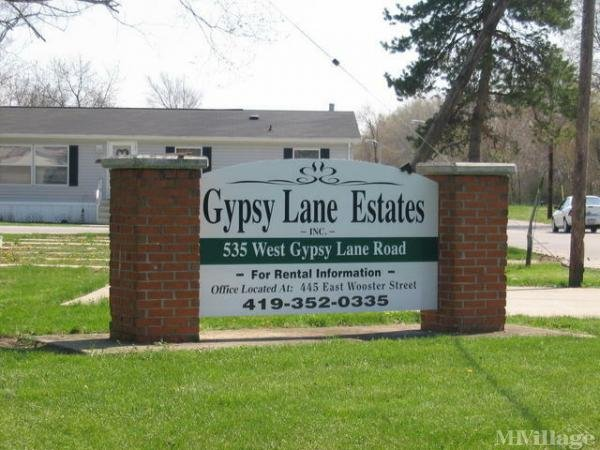 Gypsy Lane Estates Mobile Home Park in Bowling Green, OH