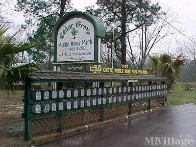 Cedar Grove Mobile Home Park