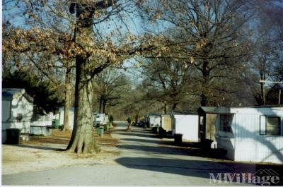 Mobile Home Park in Muscle Shoals AL