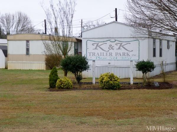 K & K Trailer Park Inc Mobile Home Park in Scottsboro, AL
