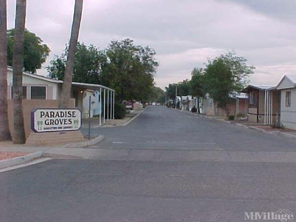 Photo of Paradise Grove Mobile Home Community, Glendale, AZ