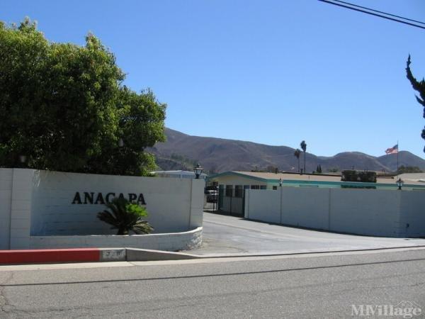Photo of Anacapa Mobile Home Park, Santa Paula, CA
