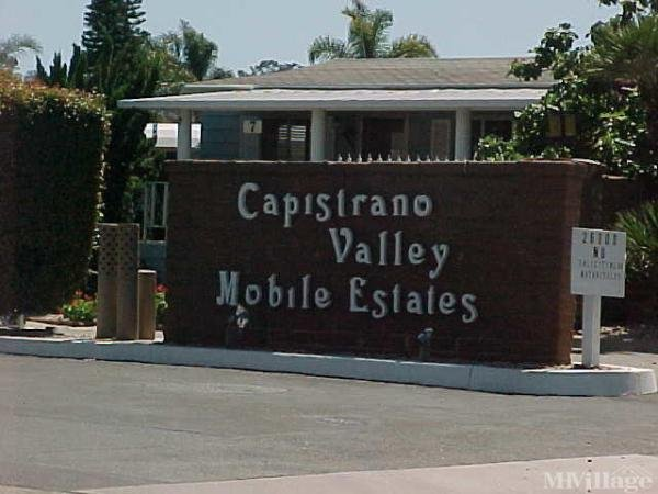 Photo of Capistrano Valley Mobile Estates, San Juan Capistrano, CA