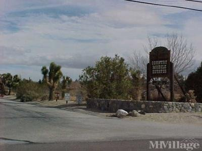Mobile Home Park in Llano CA