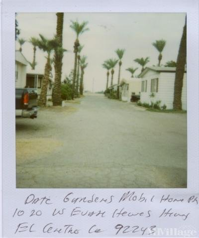 Mobile Home Park in El Centro CA