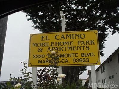 Mobile Home Park in Marina CA