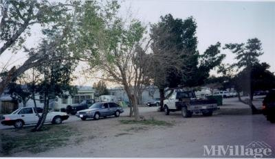 Mobile Home Park in Lone Pine CA